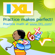 Practice makes perfect. Practice math at IXL.com