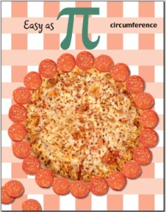 circumference of a pizza with 22 pepperonis