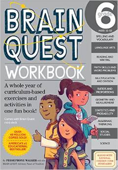 Brain Quest workbook, grade 6