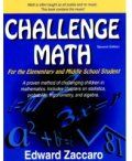 Challenge Math cover