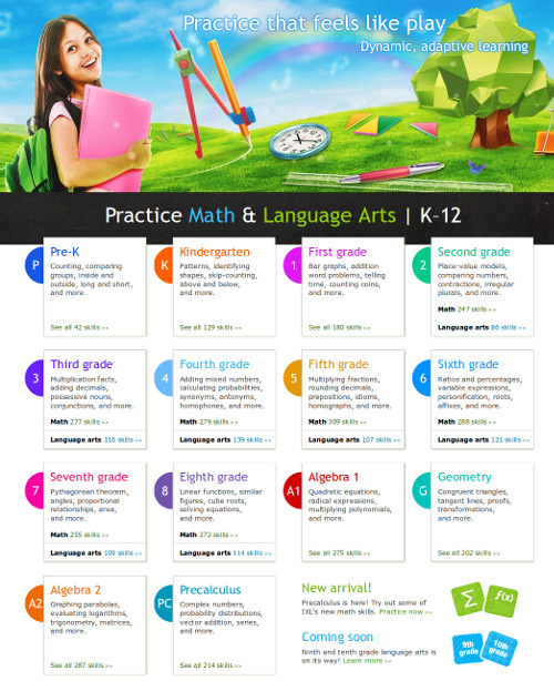 Review of IXL math and language arts practice website – Ixl Math Worksheets
