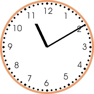 Clock Worksheet 1