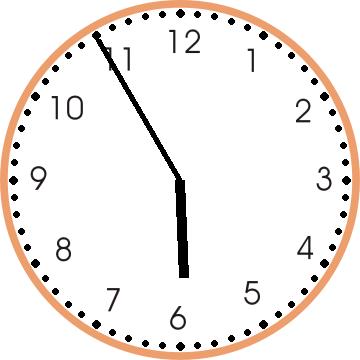 Table Clock on Number 20 Worksheet